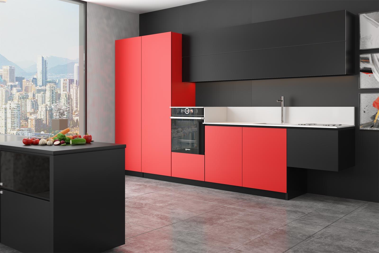 Cucine moderne con rivestimenti personalizzati | Replace Design