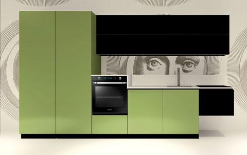 Cucina Replace Design Black Green