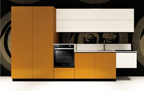 Cucina Replace Design White Orange