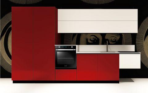 Cucina Replace Design White Ruby