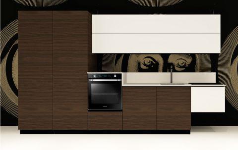 Cucina Replace Design White Walnut